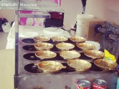 Malaysia Peluang Perniagaan Set Dapur Apam Balik Nipis